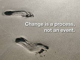 change is a process