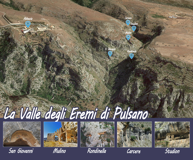 Mappa Degli Eremi di Pulsano