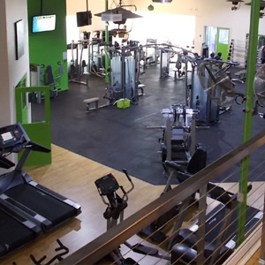 Gym from Mezzanine