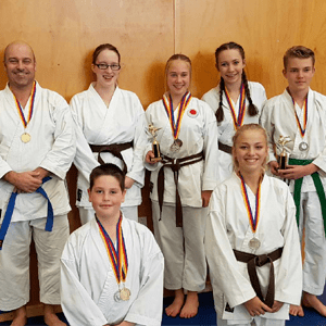 Karate Competitors are Winners