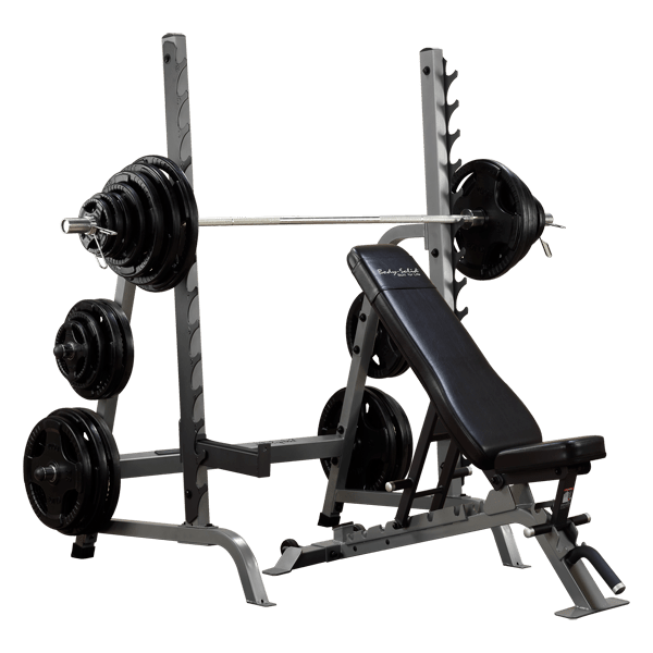 Sdib370 Body Solid Bench Rack Combo Body Solid Fitness