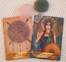 Angels & Ancestors Oracle Broken Arrow en Peace Guardian