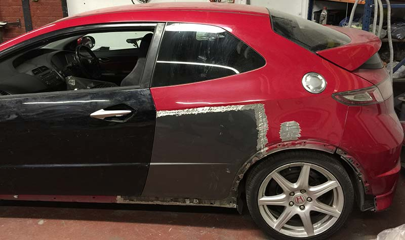 Honda Civic Type R Fn2 Accident Repair London Bodyteq