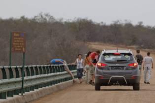 Brücke über den Olifants