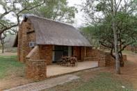 Unterkunft im Camp Berg-en-Dal (Kruger NP)