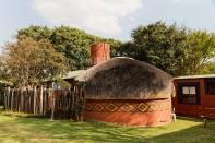 Zulu-Hütte im Zeederberg Cottages&Backpackers/Vaalwater