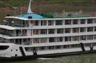 Kreuzfahrtschiff am Jangtsekiang