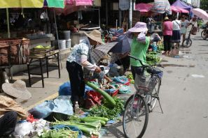 Markt in Guangzhou