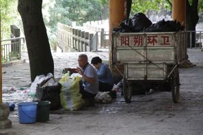 Sortierung des Abfalls