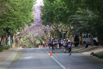 Volkslauf in Pretoria