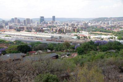 Blick auf Pretoria