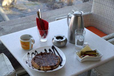 Frühstück in Mytilini