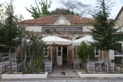 Kafenion in Polichnitos