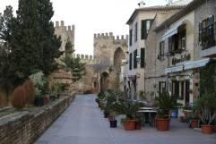 Straßencafes in Alcudia