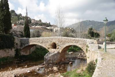 Pont Roma in Pollenca