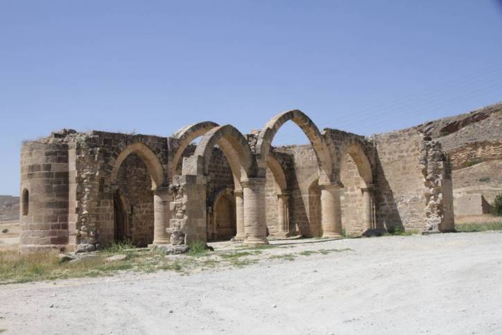Ruine der Moschee in Agios Sozomenos