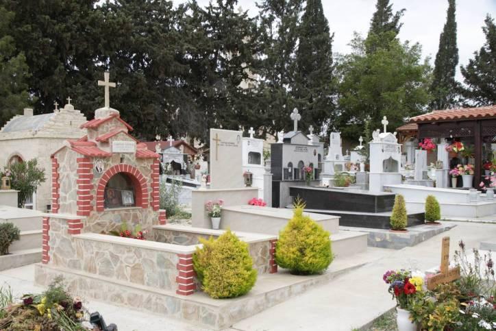 Friedhof in Pyla