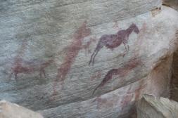 Felsenmalerei der San