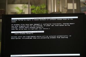 Windows-Absturz