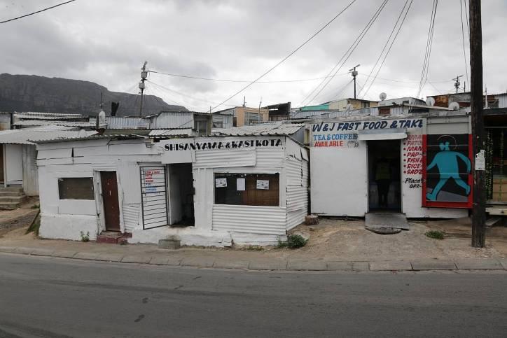Läden in Imizamo Yethu