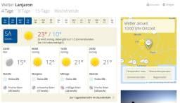 Wettervorhersage wetter.de