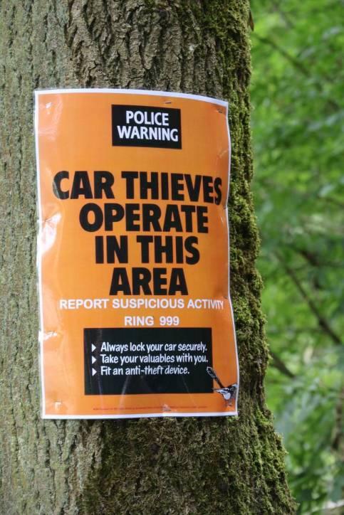 Warnung vor Einbrüchen in Autos