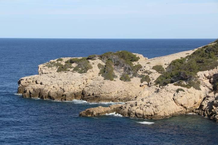 Landschaft bei Sant Elm