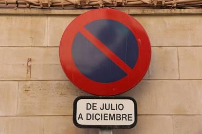 Parkverbot von Juli bis Dezember