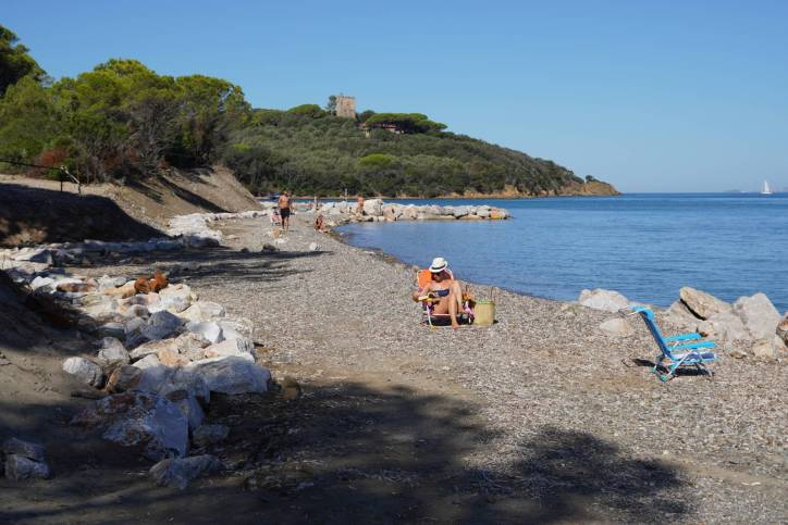 Strand in Punta Ala