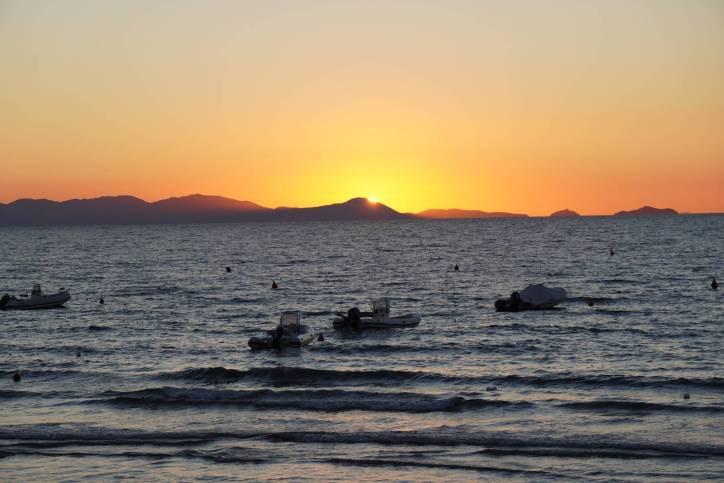Sonnenuntergang bei Punta Ala