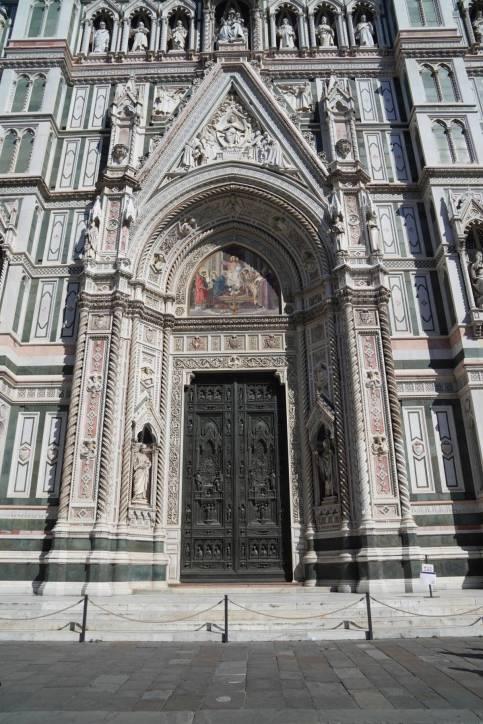 Portal der Kathedrale in Florenz