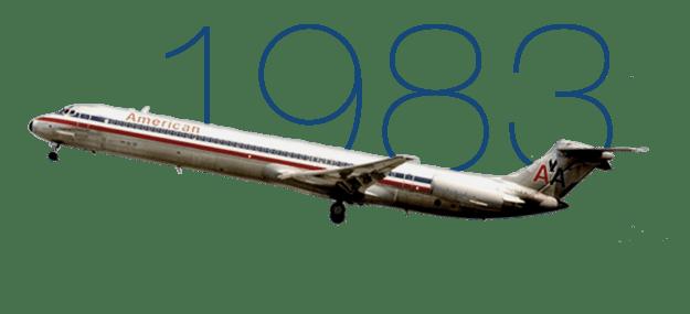 Resultado de imagen para American Airlines MD-80 png