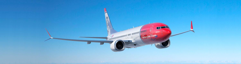 Resultado de imagen para norwegian air Boeing 737 max
