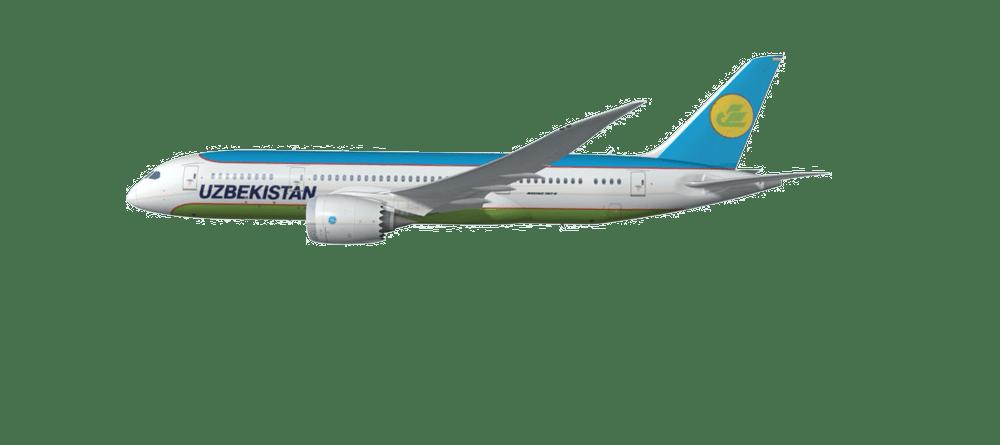 Resultado de imagen para uzbekistan airways boeing 787