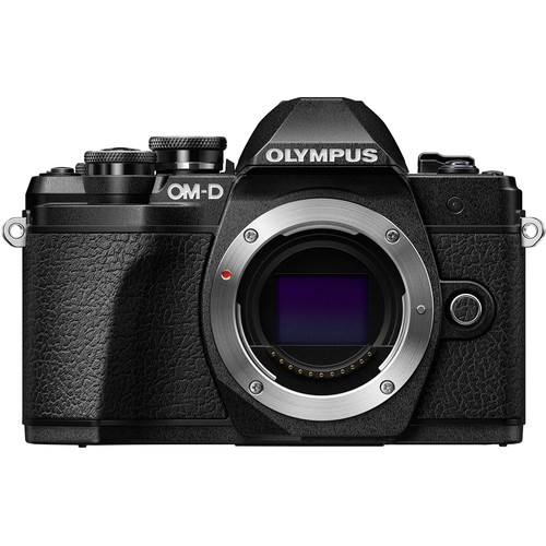 Olympus OM-D E-M10 Mark III Mirrorless Camera (Body Only, Black & Silver)