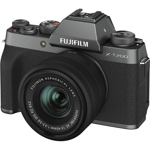 (CASHBACK) FUJIFILM X-T200 with 15-45mm Lens (FREE 32GB SD CARD) Mirrorless Digital Camera