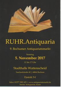 5/11  Ruhr Antiquaria Wattenscheid