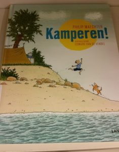 prentenboek kamperen