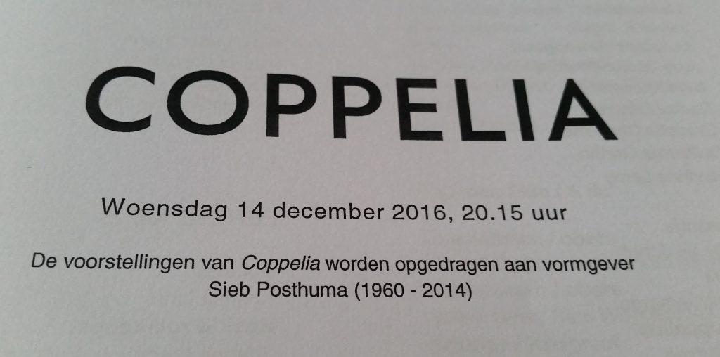 tekst coppelia ballet
