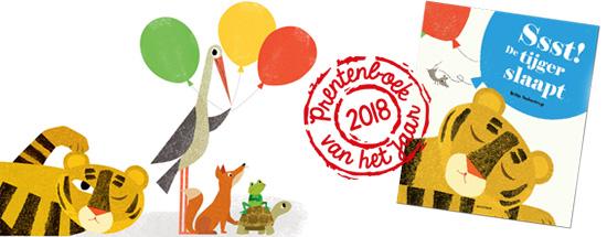 prentenboek van het jaar 2018