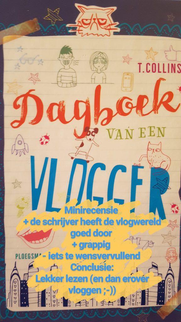 boek dagboek vlogger