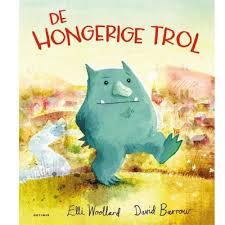 prentenboek hongerige trol