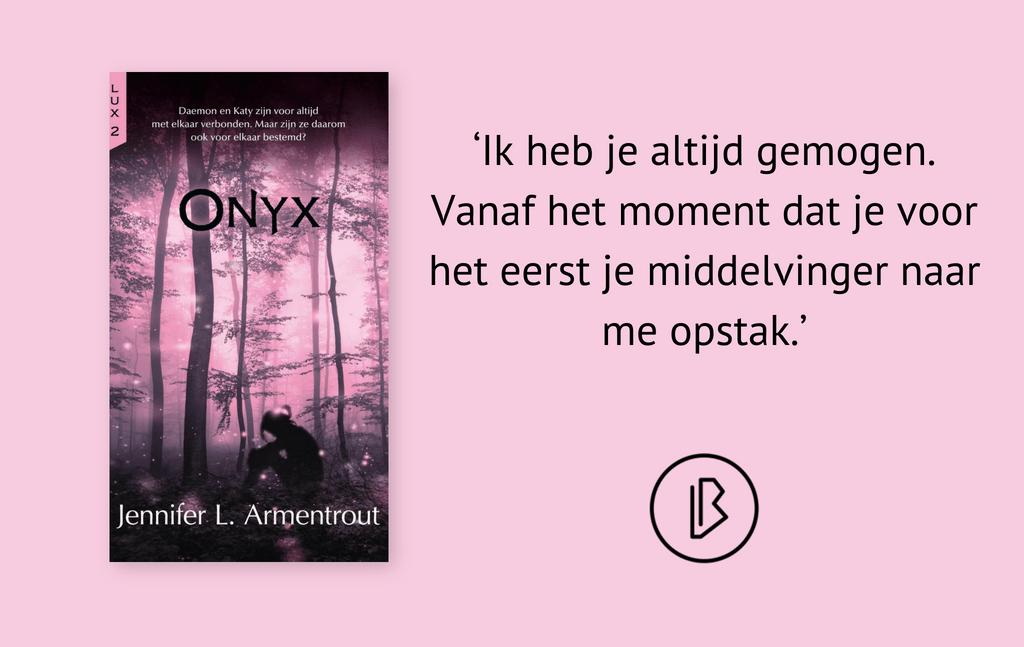 Recensie: Jennifer L. Armentrout – Onyx (Deel 2 van de vijf-delige serie Lux)