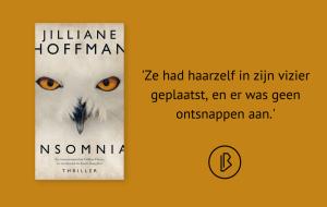Recensie: Jilliane Hoffman – Insomnia