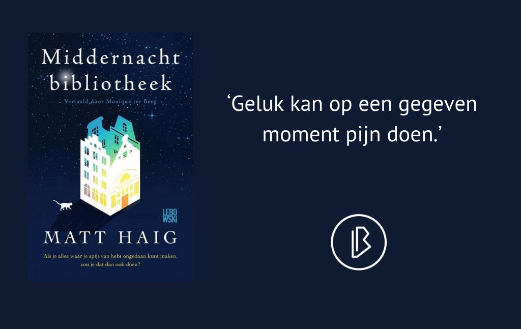 Recensie: Matt Haig – Middernachtbibliotheek