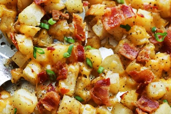 Warm aartappel spek slaai kook met nostalgie - Kook idee ...