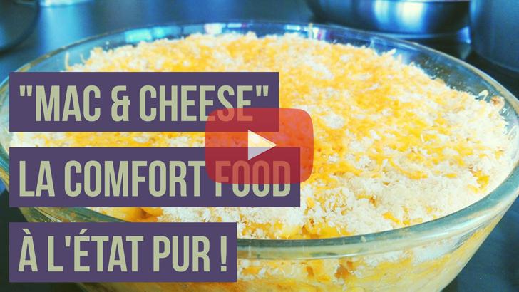 [Vidéo] Les mac and cheese, un bout de culture américaine dans votre assiette