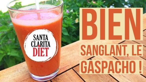 Image de presentation de la recette du gaspacho au paprika fume
