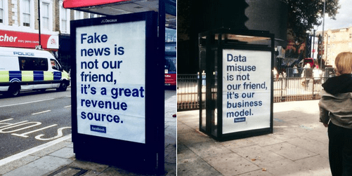 Fake news is not our friend, it;s a great revenue source