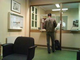 Cancelleria dell'ambasciata italiana (interno)